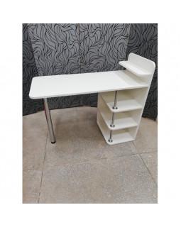 Маникюрный стол Лайт 2, цвет белый
