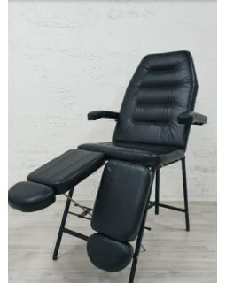 Кресло Косметологическое Горизонт БМ+РН new (черный )