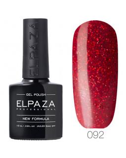 Гель-лак ELPAZA 092 Рубиновый блеск