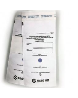 Альянс Хим, Крафт-пакеты для стерилизации, 100x200 мм., белые, 100 шт.