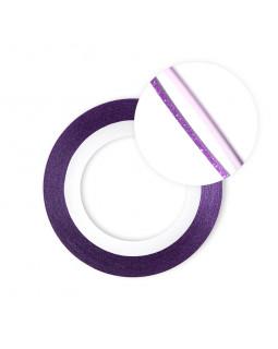 Нить на клеевой основе перламутровая (фиолетовая)