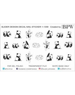 Слайдер-дизайн Панды
