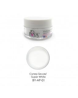 BOYA Акриловая пудра Acrylic Powder (Super White) 15г