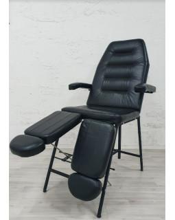 Кресло Косметологическое Горизонт БМ+РН+РВ new (черный )