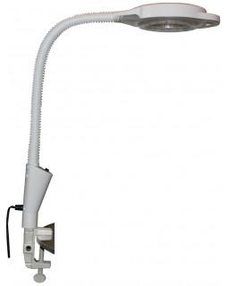 Лампа-лупа настольная на струбцине