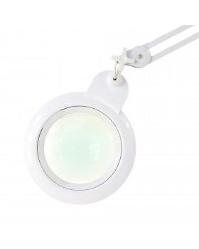Настольная лампа-лупа на струбцине