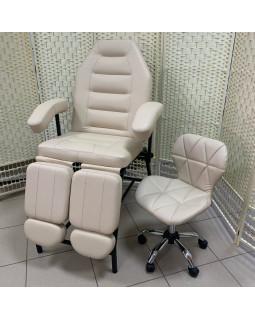Педикюрное кресло, цвет бежевый