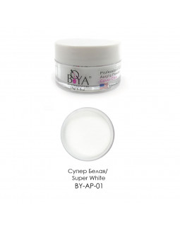 BOYA Акриловая пудра Acrylic Powder (Super White) 30г BY-AP-01B