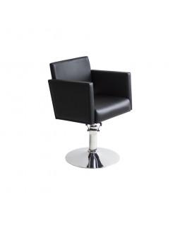 Кресло парикмахера Квадрат основание диск