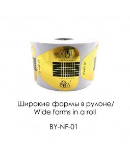 BOYA Формы Золотые широкие (нижние) BY-NF-01
