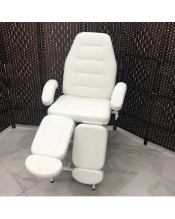 Педикюрное кресло, цвет белый